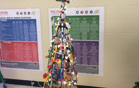 Christmas Tree Forest in Moody High School